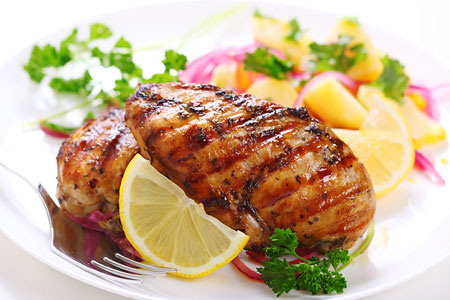 Barbequed Chicken Breasts